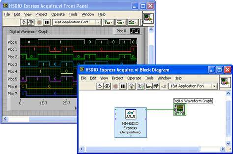 pattern generator logic analyzer how to use the national instruments logic analyzer and