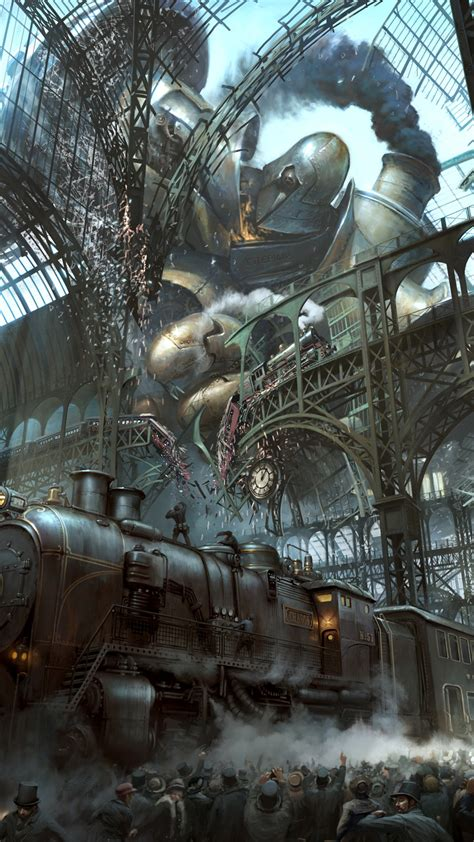 android themes engine free download steunk train station titan android wallpaper free download