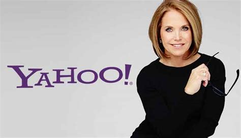 katie couric job katie couric to leave 10 million job at yahoo