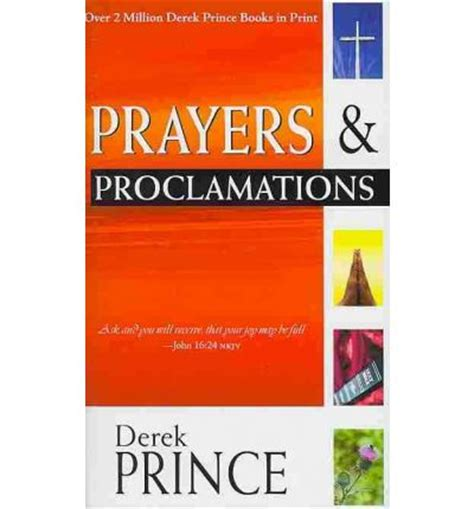 prayers and proclamations prince derrick 9781603741224