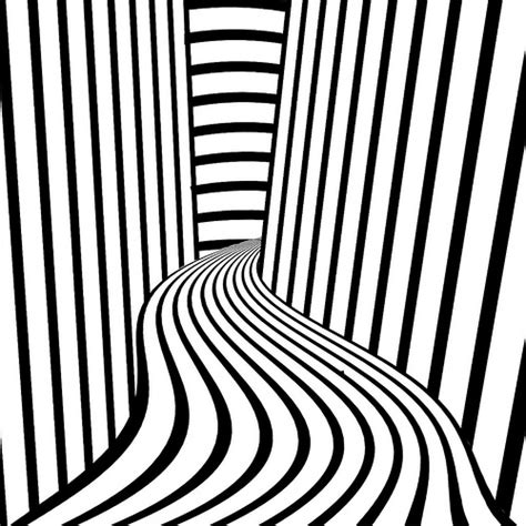 Free Coloring Pages Of Op Art Sheets Optical Illusion Line And Color With Pic