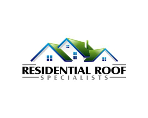 free logo design roofing logo design entry number 2 by aden residential roof