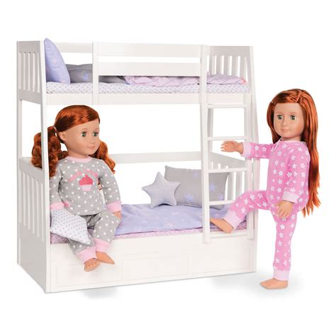 our generation doll bed our generation dream bunk beds from our generation world