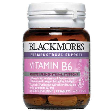 vitamins to help pms mood swings blackmores pms support vitamin b6 240mg 42 tablets