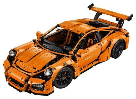 Unveils The Stunning 42056 Technic Porsche 911 Gt3 Rs