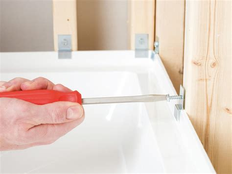 bathtub mounting clips the anatomy of a shower and how to install a floor tray diy