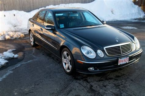 mercedes 5k 2004 e320 4matic tectite gray highly optioned 16 5k