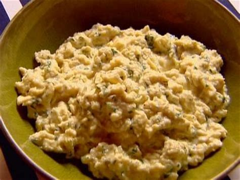 ina garten slow cooker slow cooked scrambled eggs with goat cheese recipe ina