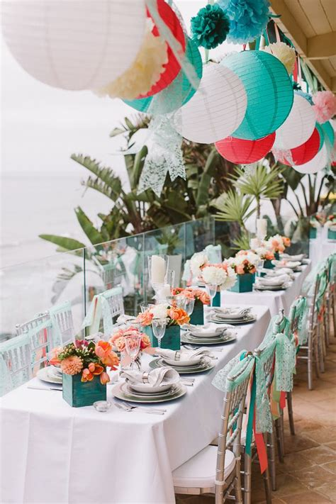 1000 ideas about aqua coral weddings on diy wedding decorations wedding planning