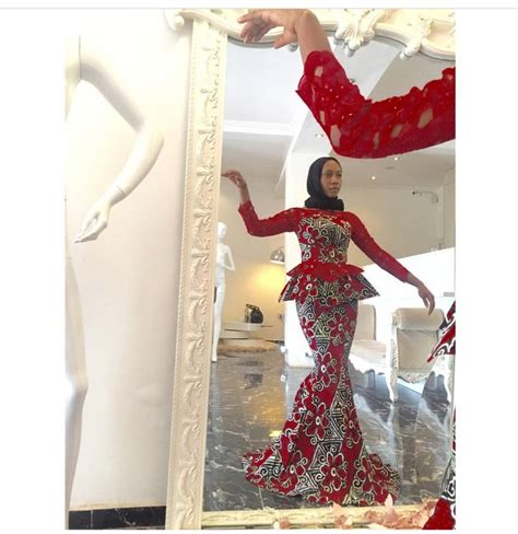 ankara african dress with lace 30 best images about africa ankara fashion on pinterest