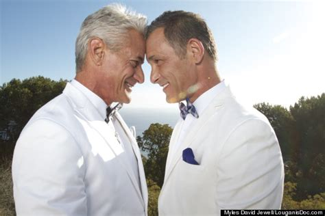 greg louganis marries johnny chaillot in malibu wedding