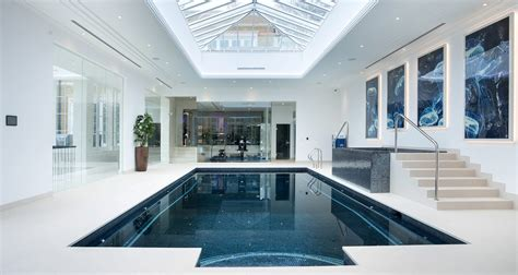 indoor swimming pool for modern house fleurdujourlacom