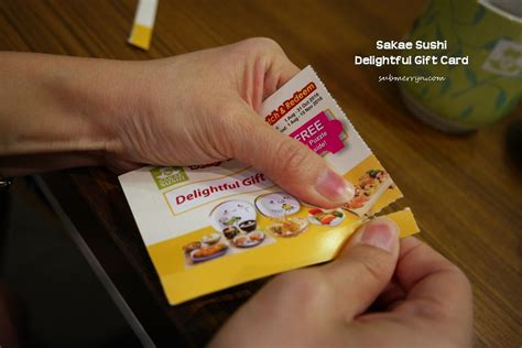 Sushi Gift Cards - sakae sushi delightful dine match redeem promotion 171 home is where my heart is