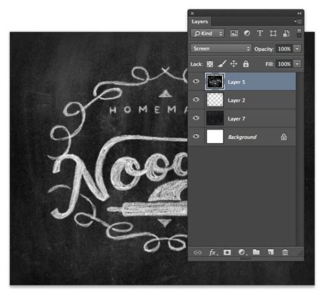 membuat poster adobe photoshop how to create a chalk logo effect in photoshop