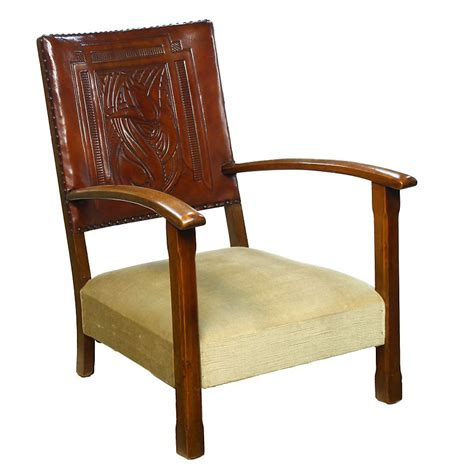 Nursing Armchair by Deco Embossed Leather Studded Child Children S Nursing