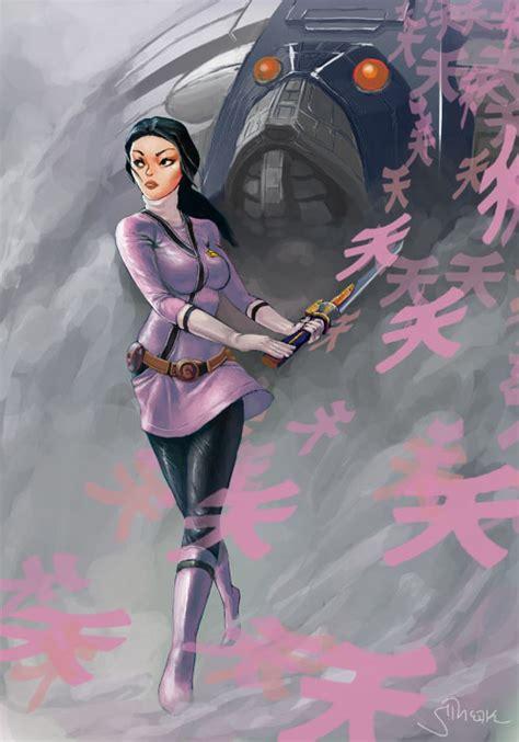 painting of power rangers samurai pink power rangers samurai by sopeh on deviantart