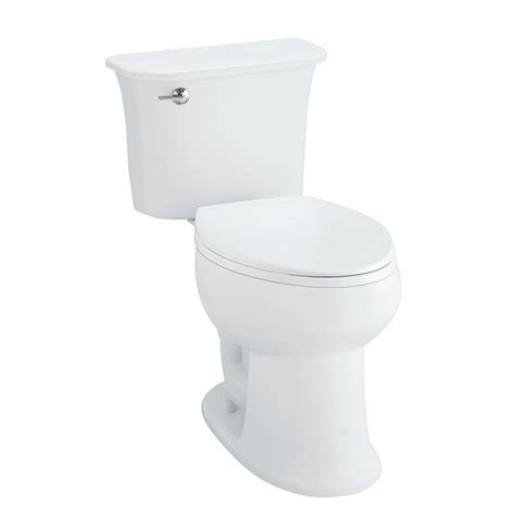 Comfort Height Toilet Lowes by Shop Sterling Stinson White 1 28 Gpf 4 85 Lpf 12