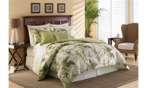 queen size bedroom comforter sets bahama island botanical lime green comforter queen size