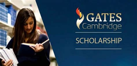 Lyondellbasell Cambridge Mba Scholarship by Gates Cambridge Scholarship Programme 2018 For Study In