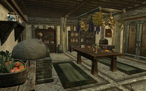 Hearthfire Houses by Shezrie S Hearthfire Kitchens And Greenhouses At Skyrim