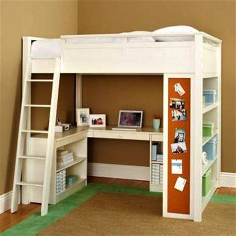 pottery barn kids loft bed pottery barn sleep study loft kid s room pinterest