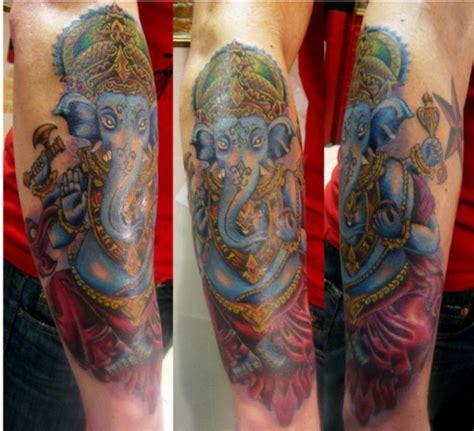 ganesh tattoo half sleeve hinduism tattoos tattoo designs tattoo pictures page 18