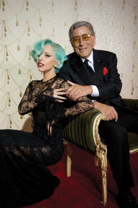 lada di wood discoteca gaga e tony insieme in quot cheek to cheek