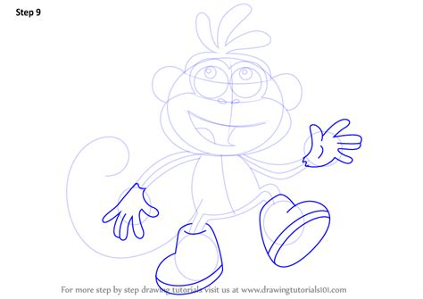 Drawing The Explorer Step By Step step by step how to draw boots from the explorer