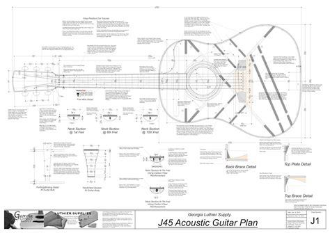 buy blueprints wood working buy guitar plans building