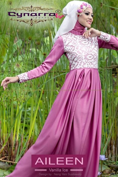 Aileen Dress By Cynarra cynarra baju muslim modern