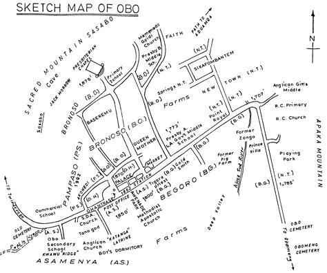 sketch map maker sketch map of obo