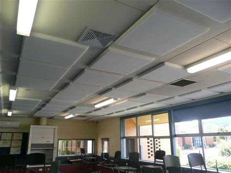Sound Deadening Ceiling by Schools Melfoam Acoustics
