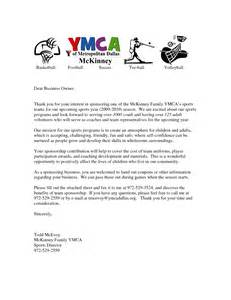 Sponsor Letter Template For Sports Sponsorship Letter Template For Sports Team