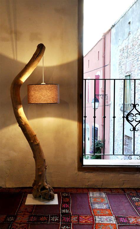 simple easy driftwood floor lamp tutorial bigdiyideascom