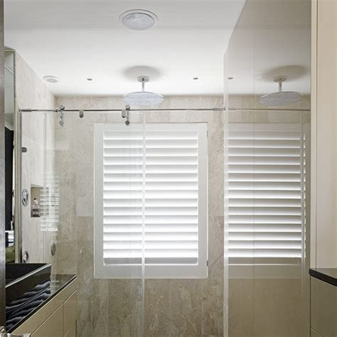 window dressing for bathroom shutter in shower bathrooms pinterest wet rooms