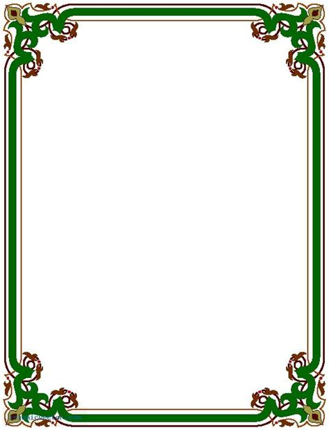 border design free download page borders frame design cake sports borders page