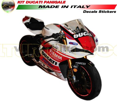 Ducati 1199 Sticker Kit by Vulturbike Ducati Panigale 899 1199 Superbike Decal