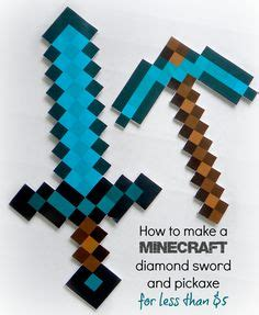 how to make a origami minecraft sword selbstgemacht f 252 r kinder and kost 252 me on