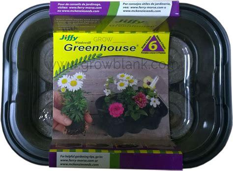 Jiffy Windowsill Greenhouse by Jiffy Windowsill Greenhouse 6 Pellets Grow Peat
