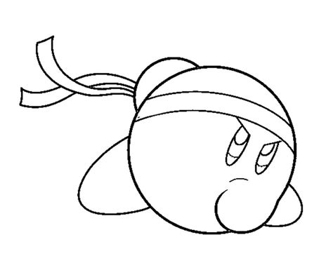 baby kirby coloring pages random super smash bro kirby coloring pages