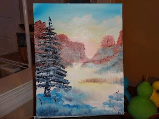 bob ross last painting the big sky picture time more paintings