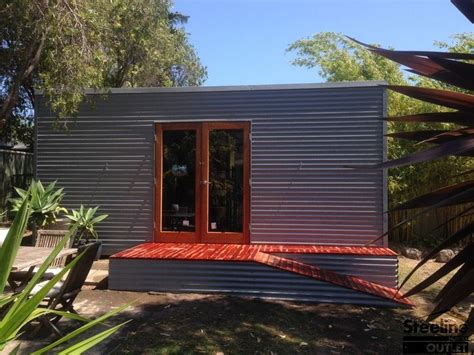 Shed Flat Roof by Details About Custom Flat Kit Shed With Skillion