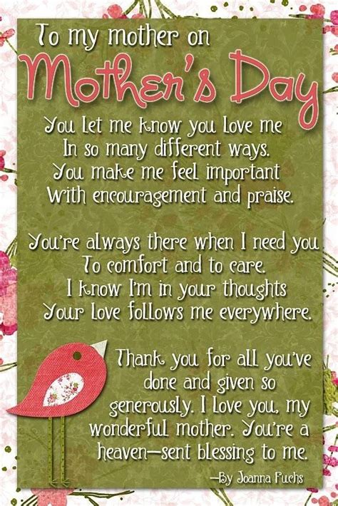 quotes for mother s day pinterest mothers day quotes quotesgram