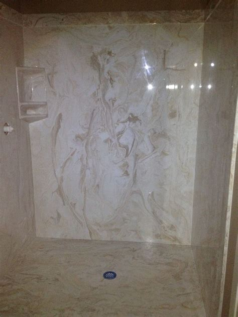 marble bathroom shower walls 25 best ideas about cultured marble shower on pinterest