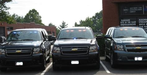 unmarked emergency vehicle lighting installation service
