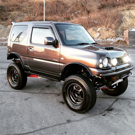 suzuki jimny lifted lifted suzuki jimny are those pajero wheels jimny