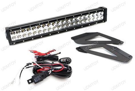 front led light bar 20 quot 120w high power led light bar kit for jeep wrangler jk