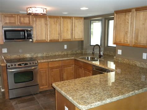 Maple Kitchen Cabinets by Granite Color For Maple Cabinets Savae Org
