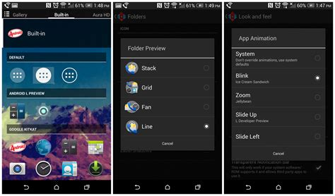 launcher android launcher with android l features