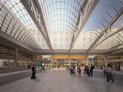 Post Office Penn Station by New Plans And Visionary Renderings For Nyc S Penn Station
